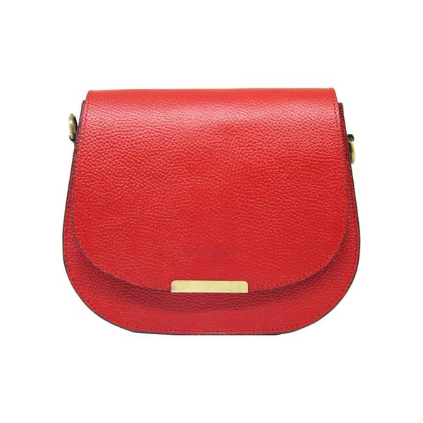 کیف دوشی زنانه چرم آرا مدل d060