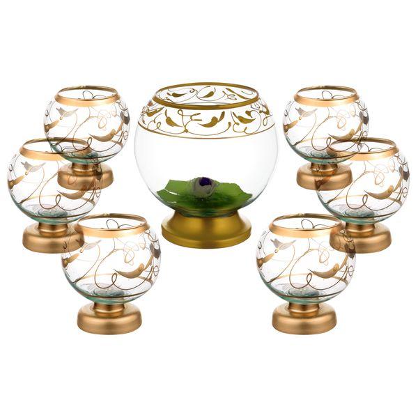 مجموعه ظروف هفت سین 7 پارچه مدلY100