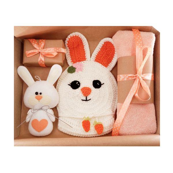 ست حوله کودک مدل خرگوشی