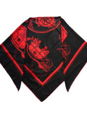 روسری زنانه کوکو طرح درشکه کد 3952 -  - 3