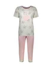 ست تی شرت و شلوارک راحتی زنانه مادر مدل 2041105-84 -  - 1