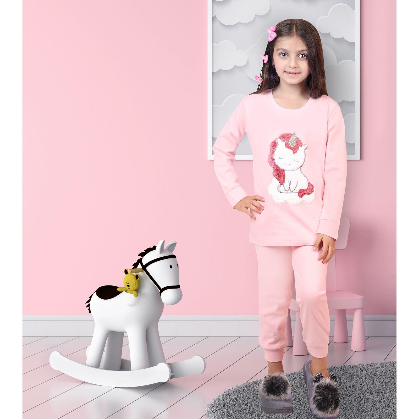 ست تی شرت و شلوار دخترانه مادر مدل 303-84 main 1 8