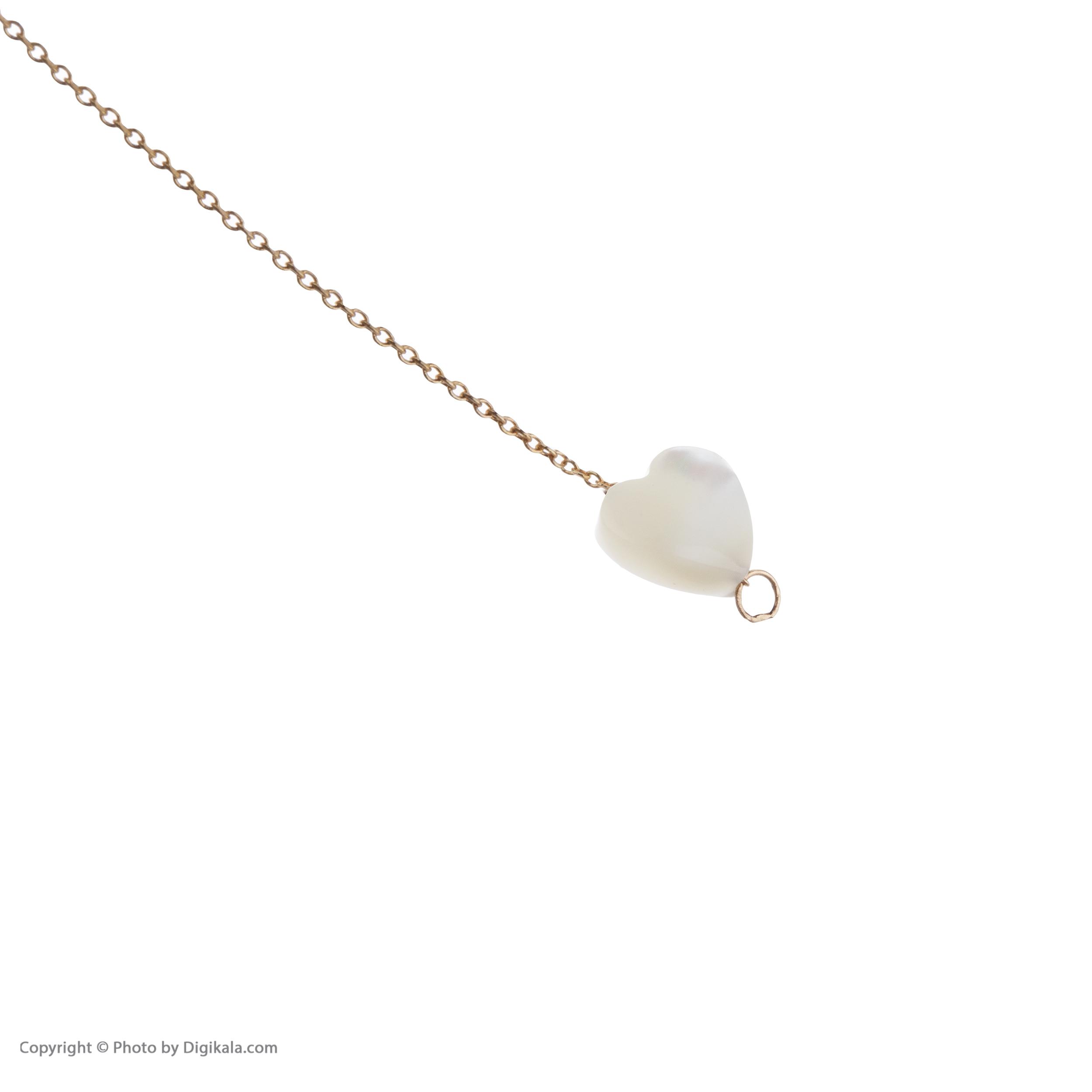 گوشواره طلا 18 عیار زنانه مایا ماهک مدل ME0848 -  - 6