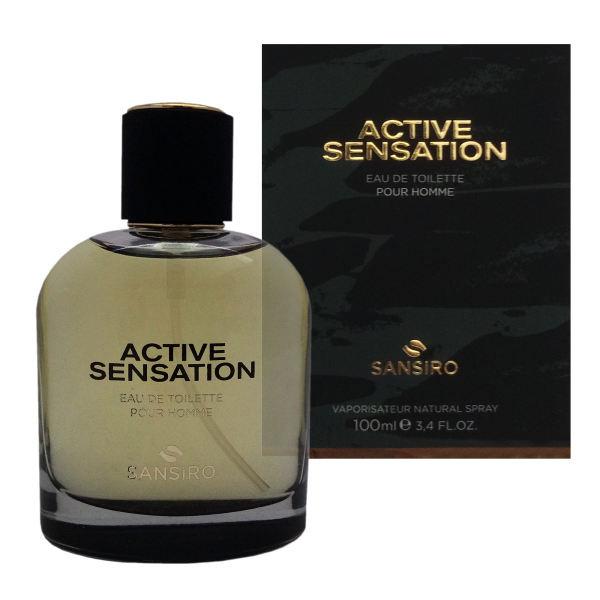 ادو تویلت مردانه سنسیرو مدل Active sensation حجم 100 میلی لیتر