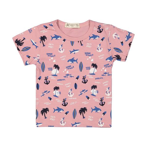 تی شرت پسرانه بی کی مدل 2211285-85