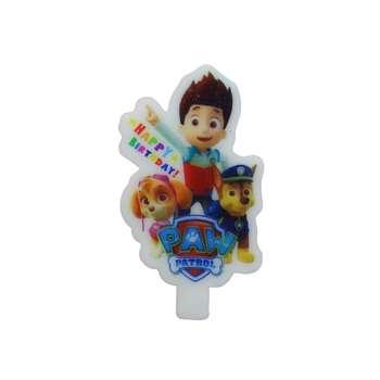 شمع تولد مدل سگهای نگهبان کد 0031