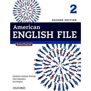 کتاب 2 American English File اثر کریستینا لاثام - دو جلدی