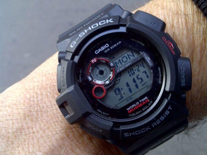 ساعت مچی دیجیتال مردانه کاسیو جی-شاک G-9300-1DR -  - 7