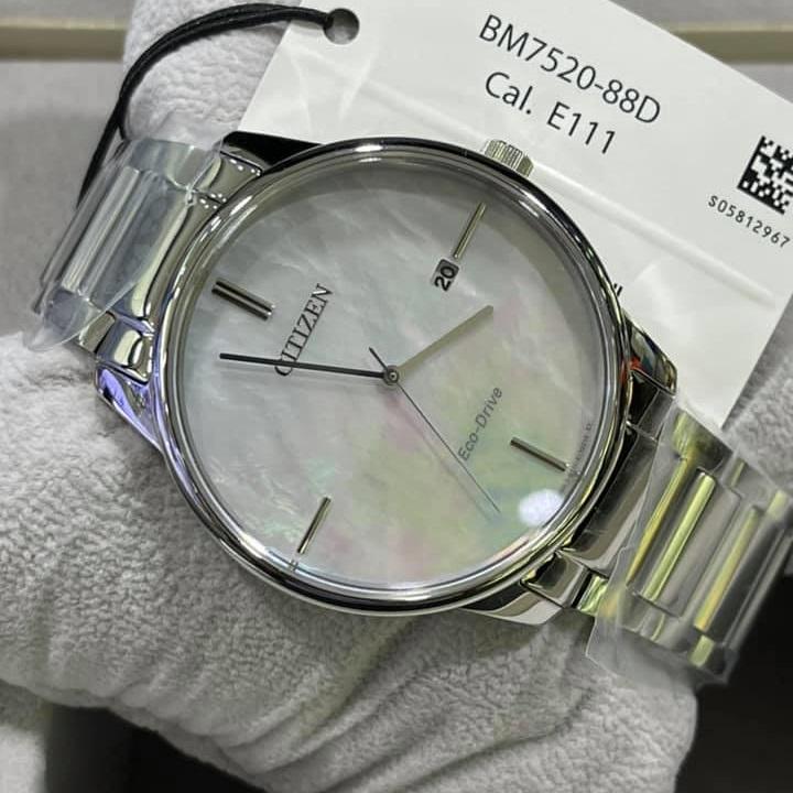 ست ساعت مچی عقربه ای زنانه و مردانه سیتی زن مدل BM7520-88D EW2590-85D