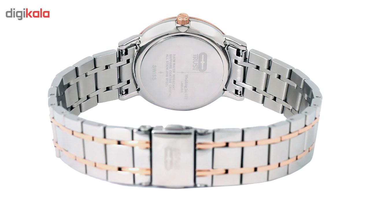 ساعت مچی عقربه ای زنانه تراست مدل L463JOK              ارزان