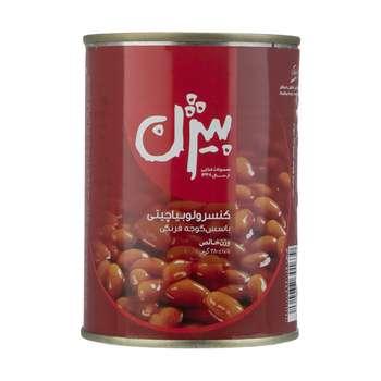 کنسرو لوبیا چیتی با سس گوجه فرنگی بیژن - 380 گرم