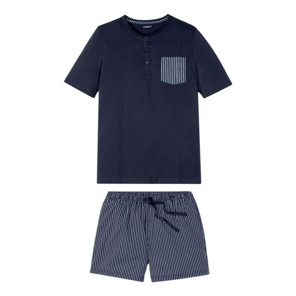 ست تی شرت و شلوارک مردانه لیورجی مدل SAD5987