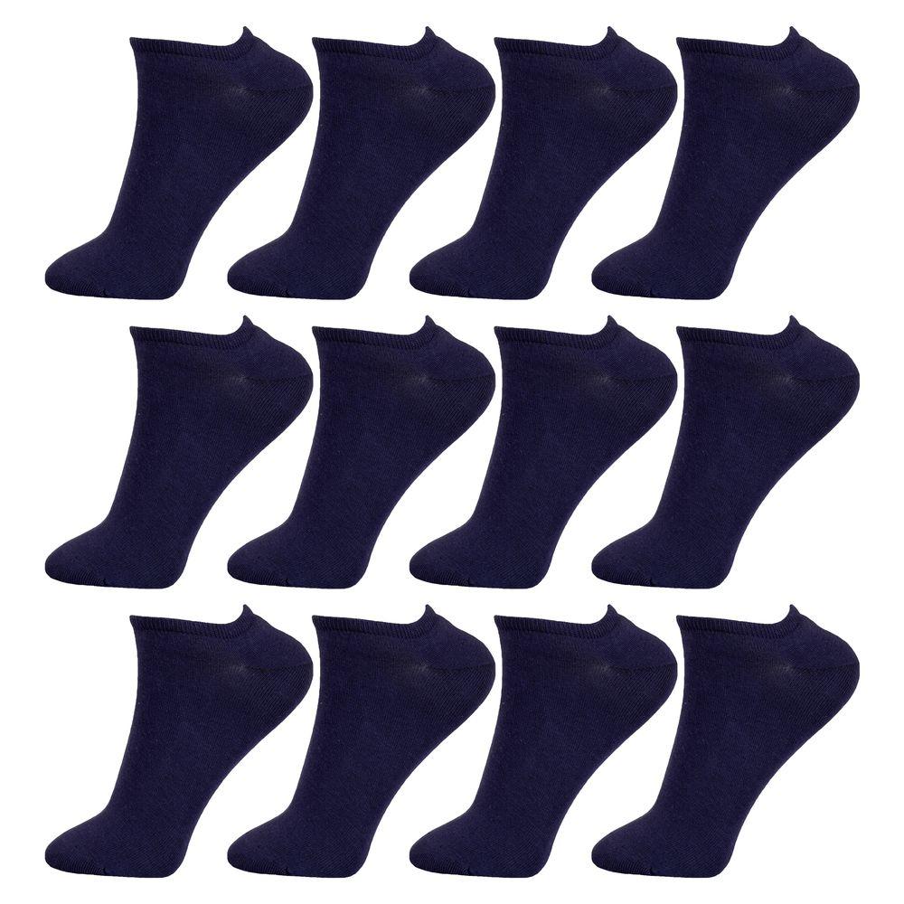 جوراب زنانه مستر جوراب کد BL-MRM 216 بسته 12 عددی