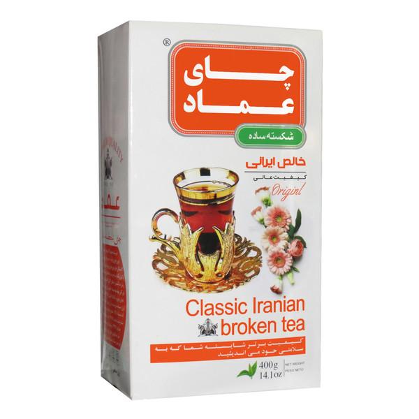 چای ایرانی ساده عماد - 400 گرم