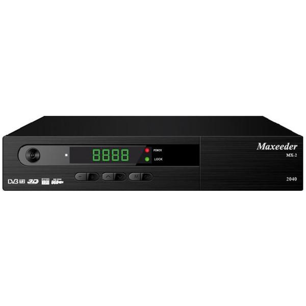 گیرنده دیجیتال مکسیدر مدل MX-2 2040 به همراه دو عدد ریموت کنترل