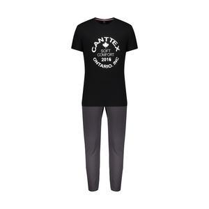ست تی شرت و شلوار مردانه دل مد گروپ مدل 249101302