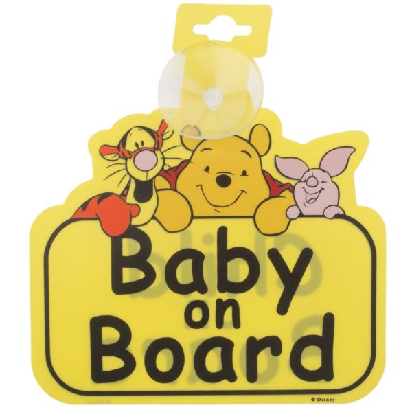 استیکر کودک بیبی آن بورد مدل Winnie the Pooh