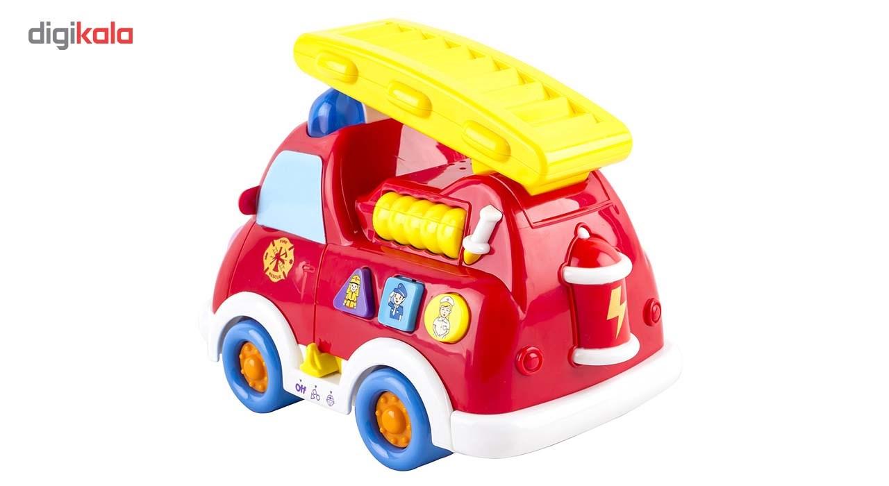 ماشین آتشنشان هیلی مدل 526