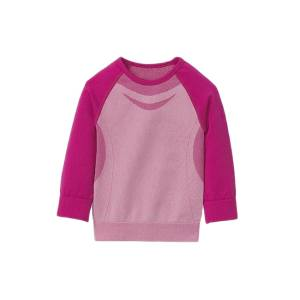 تی شرت آستین بلند ورزشی دخترانه کرویت مدل fa034