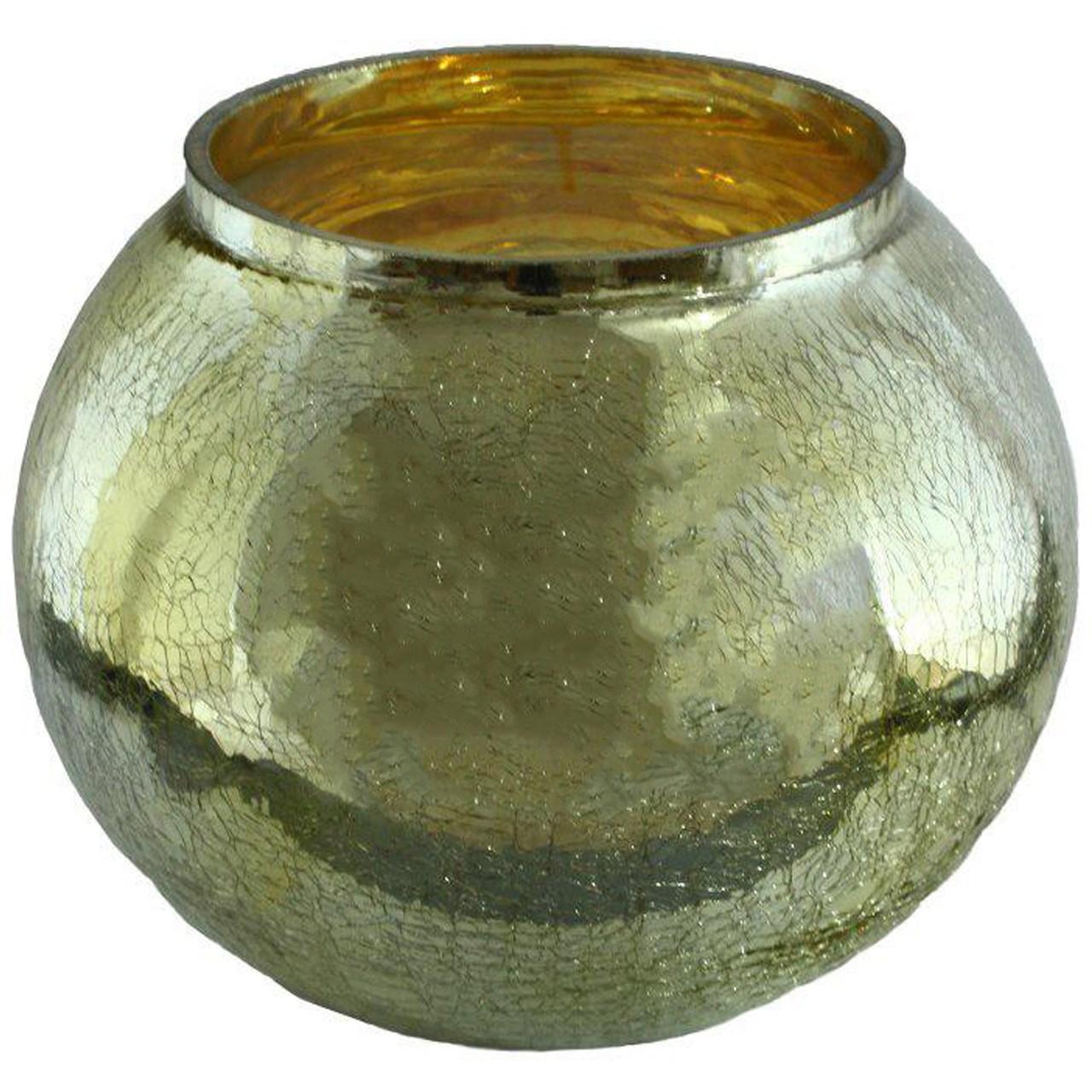 گلدان شیشه ای توپی کد 080020034
