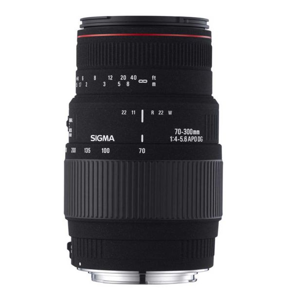 لنز سیگما مدل Sigma 70-300mm f/4-5.6 Apo DG Macro Lens for Canon EOS