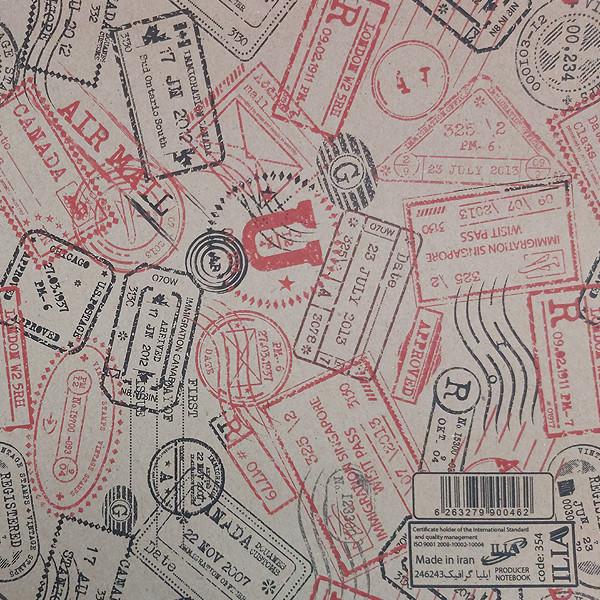 کاغذ کادو ایلیا گرافیک کد 223 بسته 5 عددی