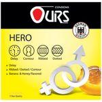 کاندوم تاخیری اورز مدل Hero بسته 3 عددی thumb