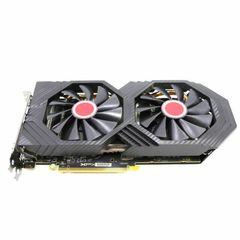 کارت گرافیک ایکس اف ایکس مدل RX 580 OC+ GTS 3X Black Edition 8GB