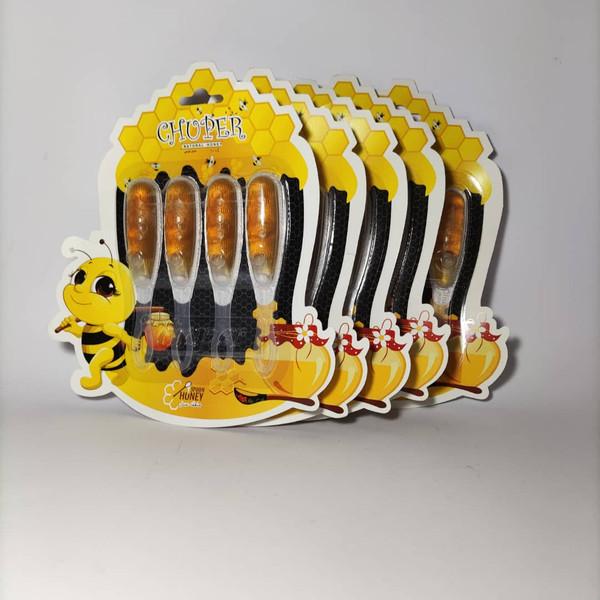 عسل قاشقی چوپِر - پنج بسته ۴ عددی
