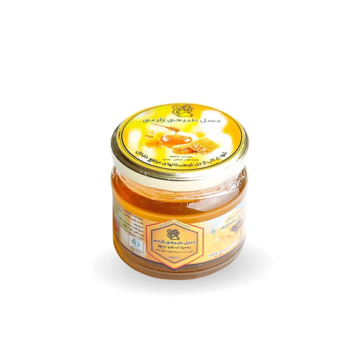 عسل طبیعی زارعی - 400 گرم