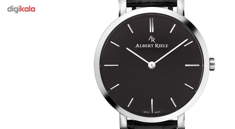 ساعت مچی عقربه ای مردانه آلبرت ریله مدل 018GQ19-SS11I-LB