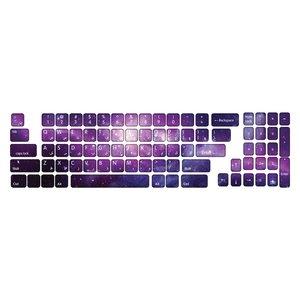 برچسب حروف فارسی کیبورد طرح کهکشان کد 22