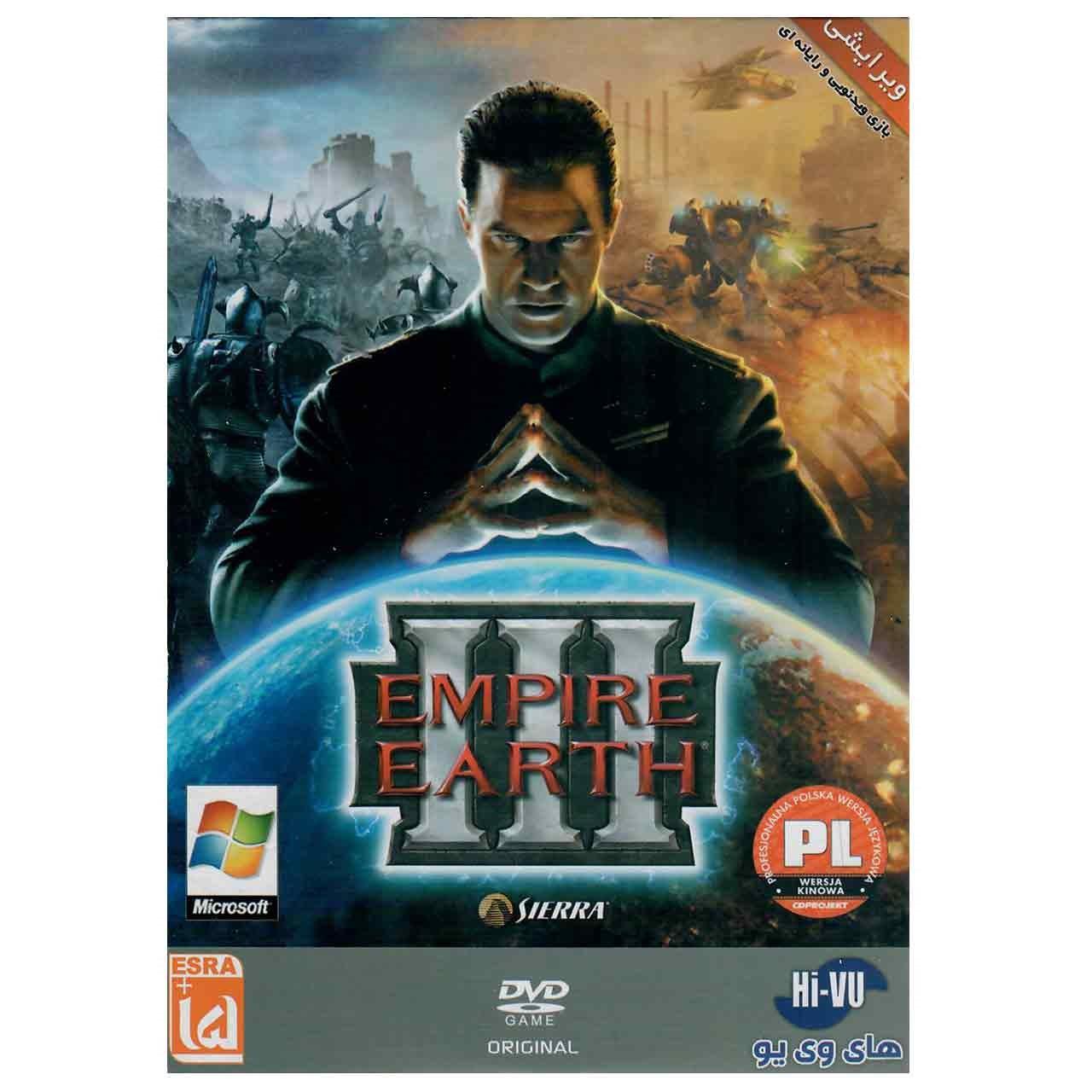 بازی Empire Earth III مخصوص PC