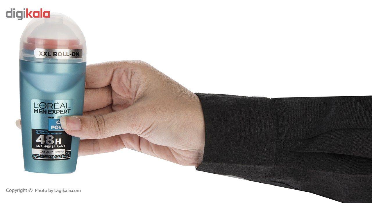 رول ضد تعریق مردانه لورآل سری Men Expert مدل Cool Power حجم 50 میلی لیتر main 1 3