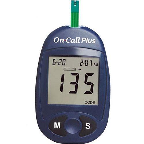 تست قندخون ایکان مدل On Call Plus G113-11 به همراه نوار تست مدل On Call Plus G133-115