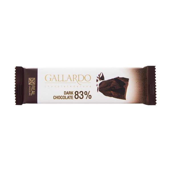 شکلات تلخ 83 درصدگالاردو  فرمند مقدار 23گرم