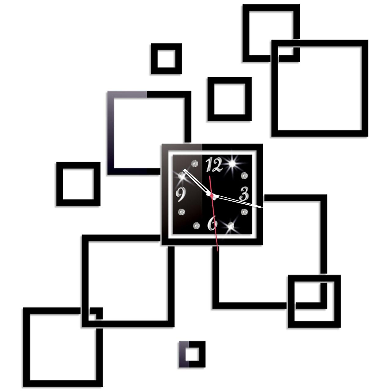 ساعت دیواری پدیده شاپ مدل یاس