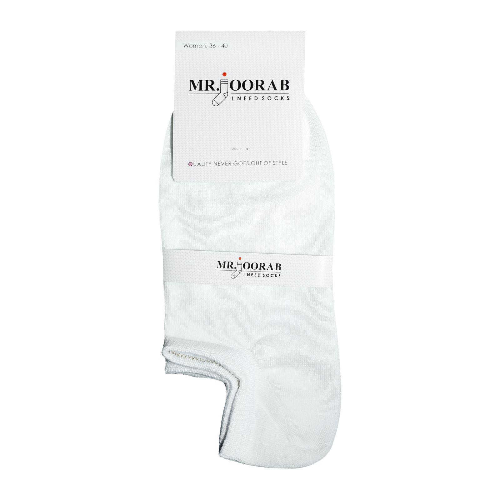 جوراب زنانه مستر جوراب کد BL-MRM 211 بسته 8 عددی -  - 3
