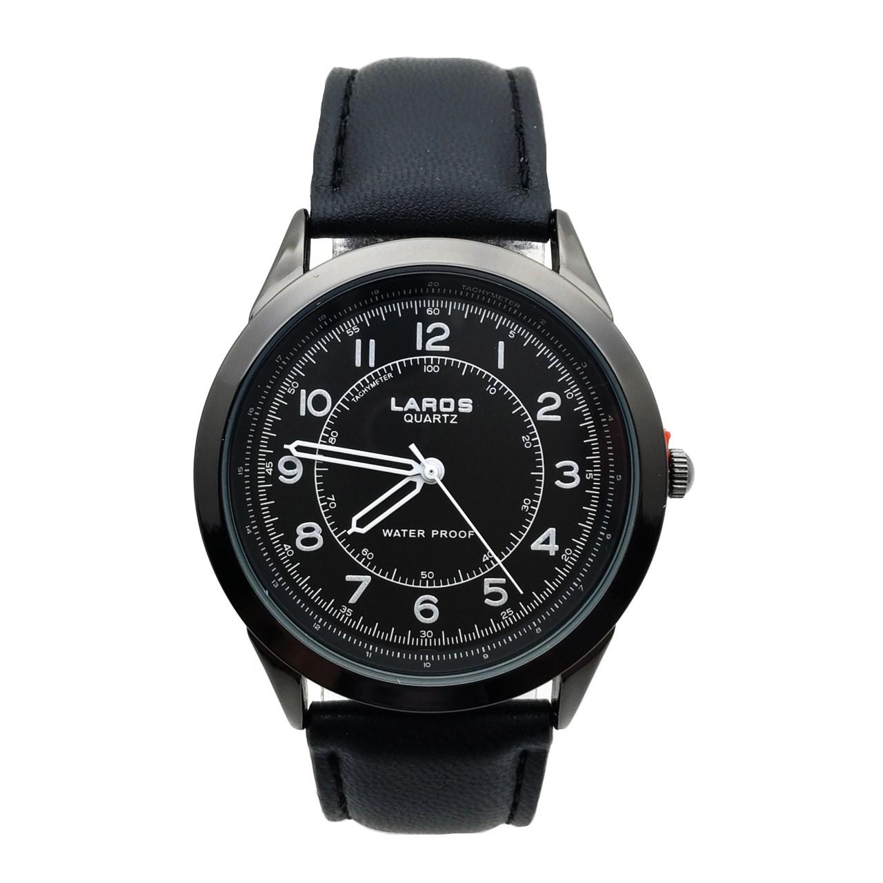 قیمت و خرید                      ساعت مچی عقربه ای مردانه لاروس مدل LM-N619-Black