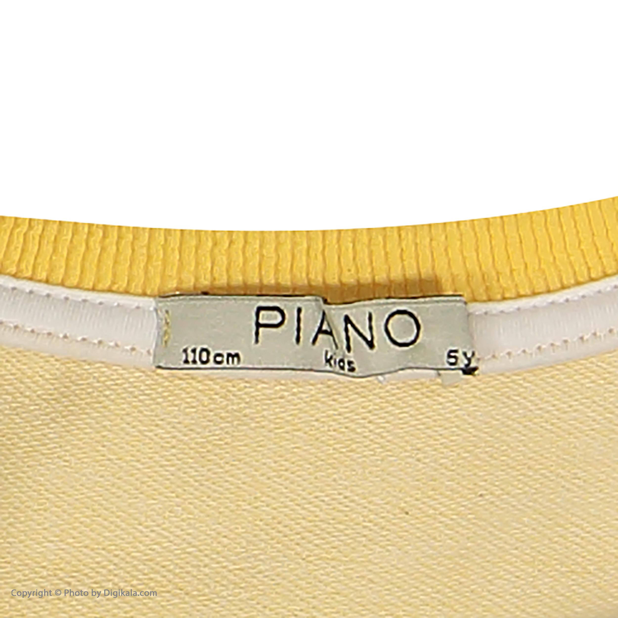خرید                                     سویشرت دخترانه پیانو مدل 1818-11
