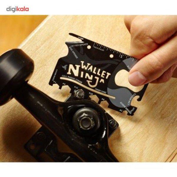 آچار و ابزار چند کاره Ninja Wallet main 1 3