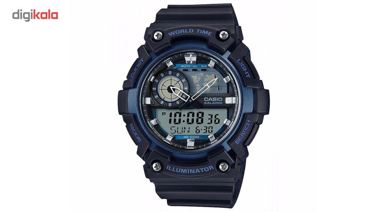 ساعت مچی عقربه ای مردانه کاسیو مدل AEQ-200W-2AVDF -  - 1