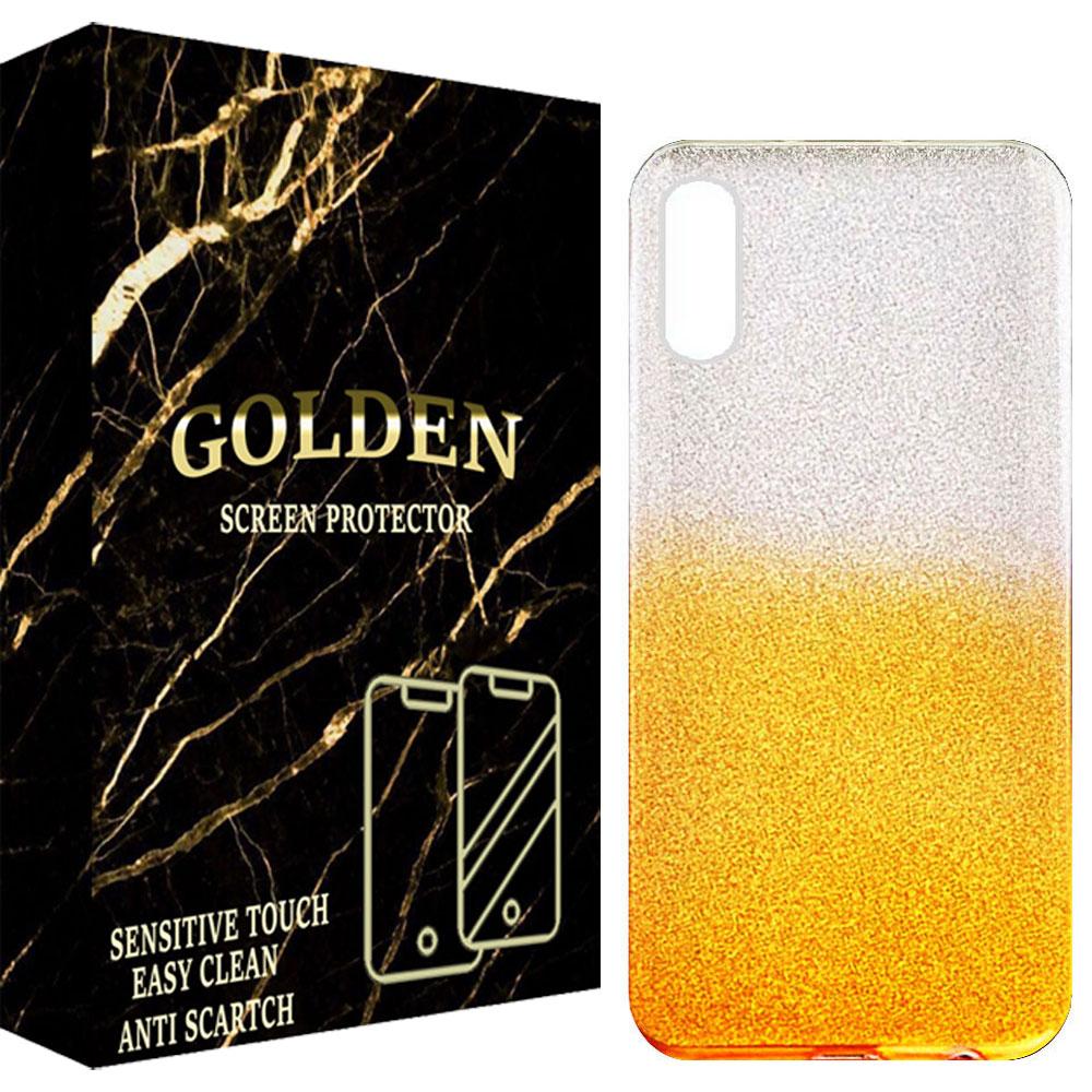 کاور گلدن مدل ALFA مناسب برای گوشی موبایل سامسونگ Galaxy A02