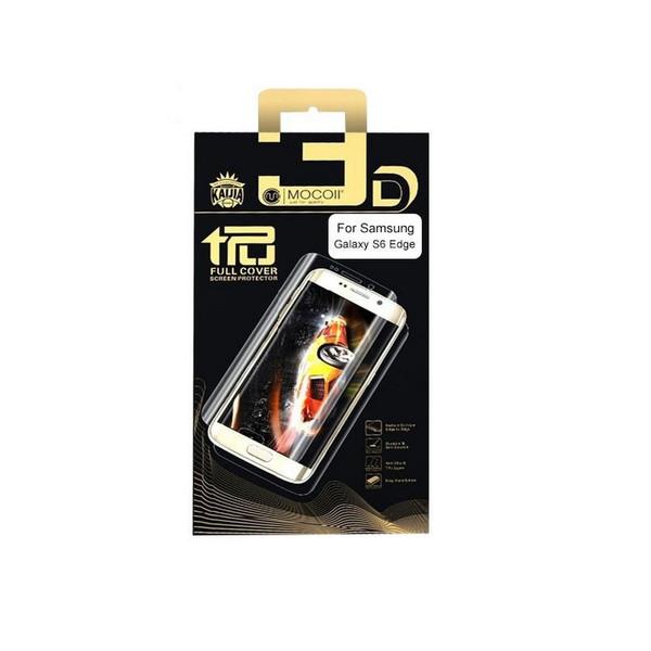 محافظ صفحه نمایش فول کاور موکول مناسب برای گوشی Samsung Galaxy S6 Edge plus