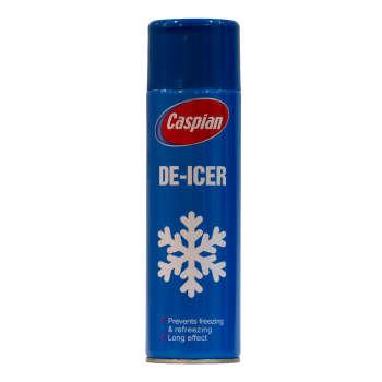 اسپری پاک کننده یخ کاسپین مدل DE-ICER حجم 400 میلی لیتر