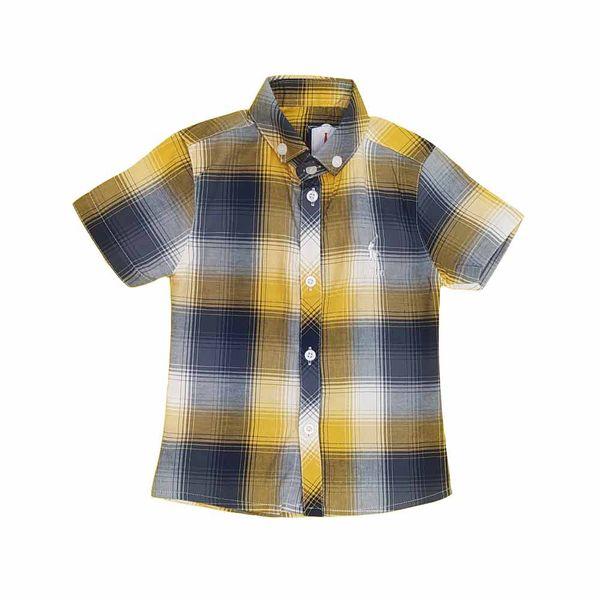 پیراهن پسرانه مدل چهارخانه کد 330513 غیر اصل