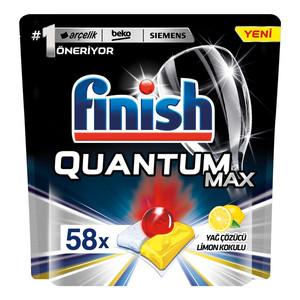 قرص ماشین ظرفشویی فینیش مدل Quantum max بسته 58 عددی