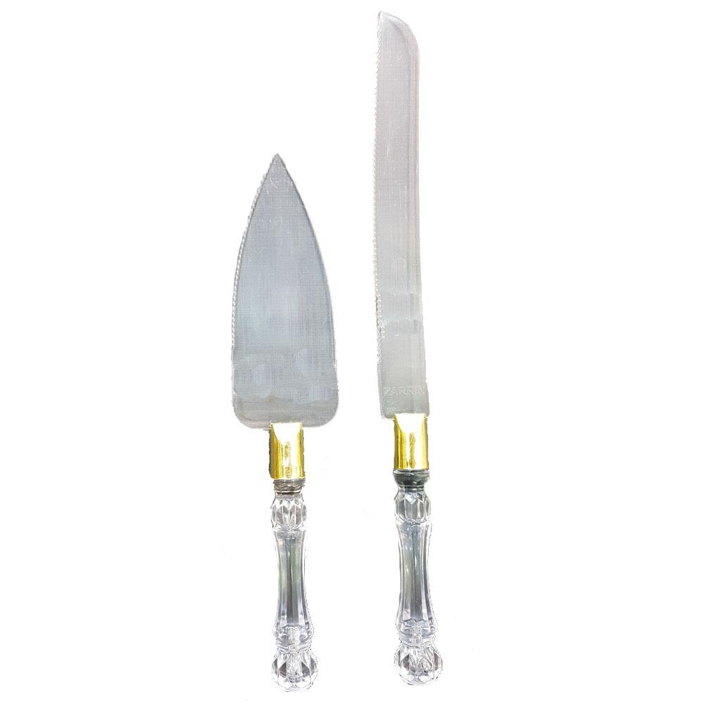 کفگیر و چاقوی سرو کیک مدل sa20