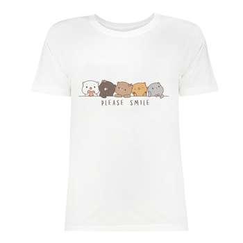 تی شرت زنانه کد SK0004-944