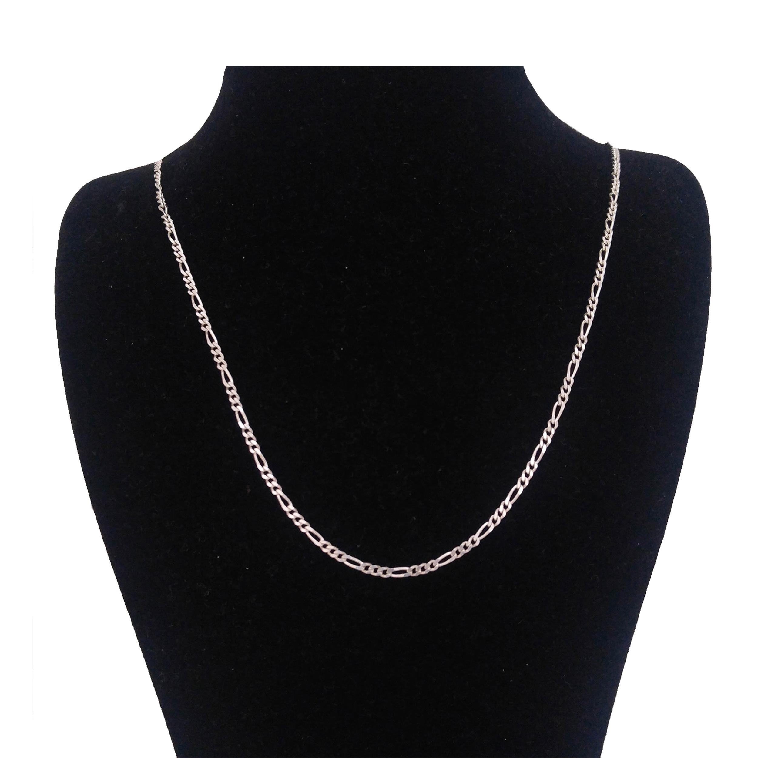 زنجیر نقره زنانه کد figaro5